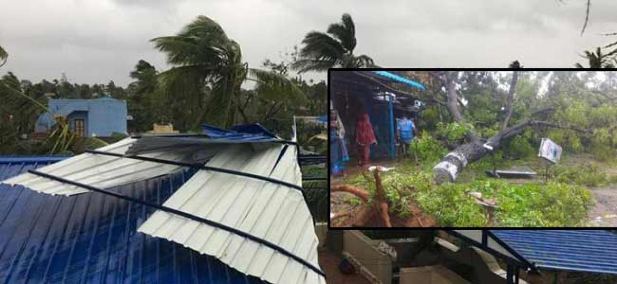 Rajnath assures TN govt of central help to deal with cyclone Gaja