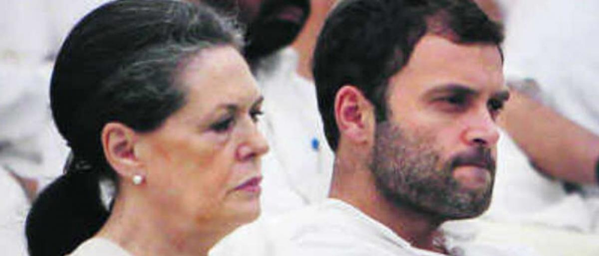 Congress - A failing family enterprise