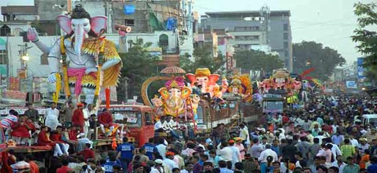 Hyderabad roads to get facelift on account of Ganesh Nimarjan