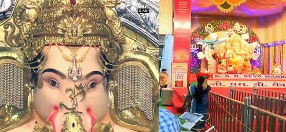 Mumbais richest Ganesh mandal insured for Rs 264.75 cr