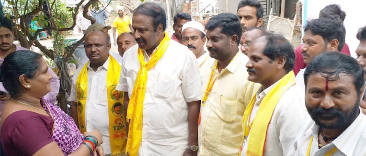 Ganni Krishna urges people to vote for Naidu