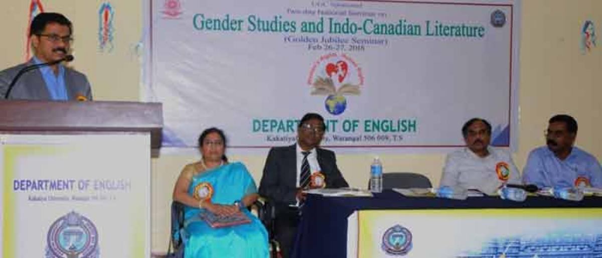 Gender studies help in ascertaining role of women in literary field: Experts