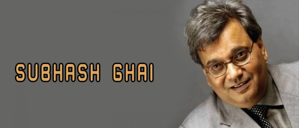 Look beyond obvious to excel in life: Subhash Ghai