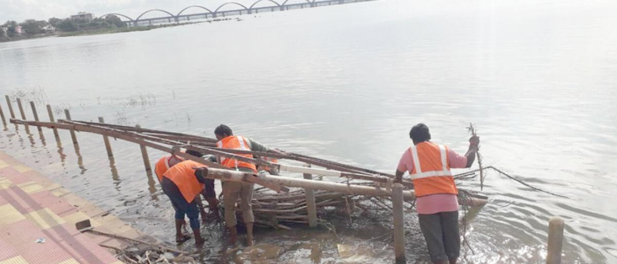 RMC action plan to clean bathing ghats