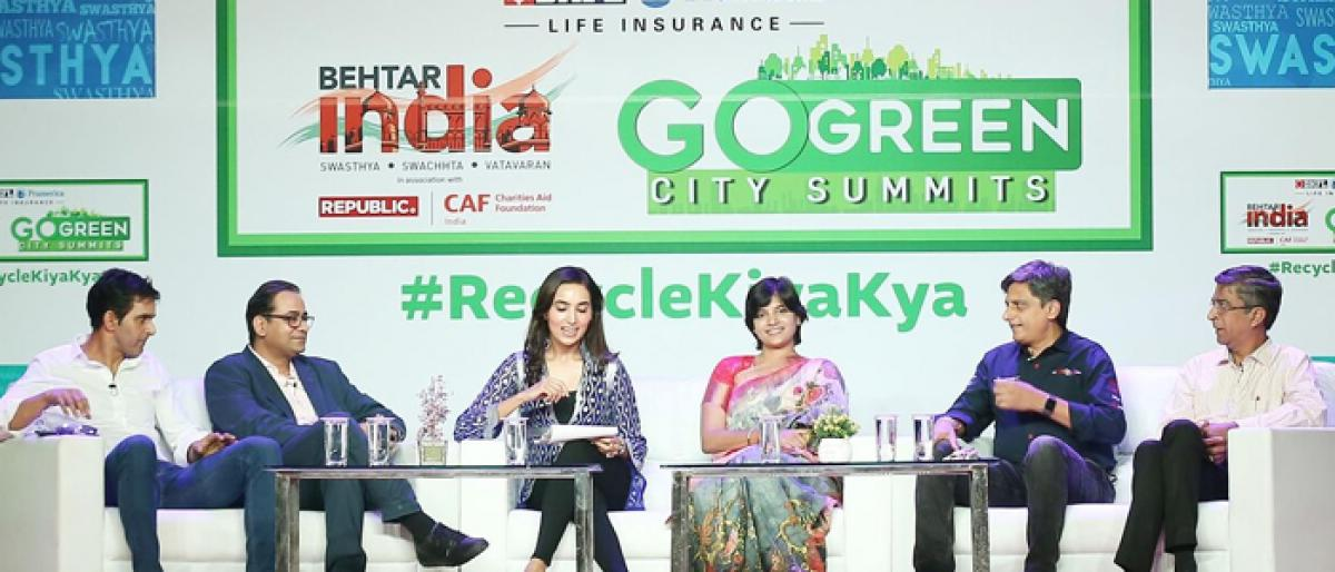 Experts mull ways to make Hyderabad greener