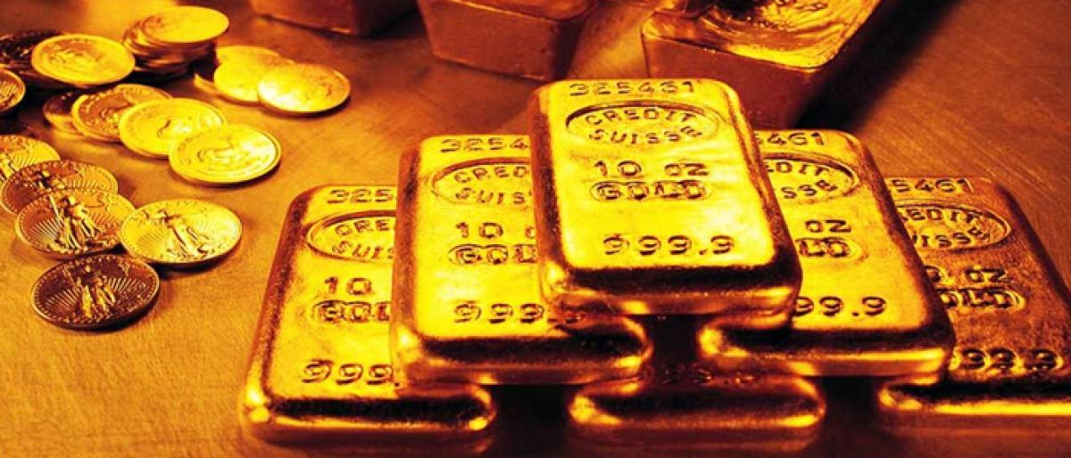 Gold continues to retain its sheen