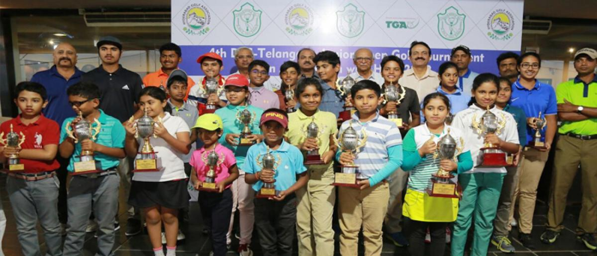 DPS – Telangana Junior Open Golf Tournament 2018