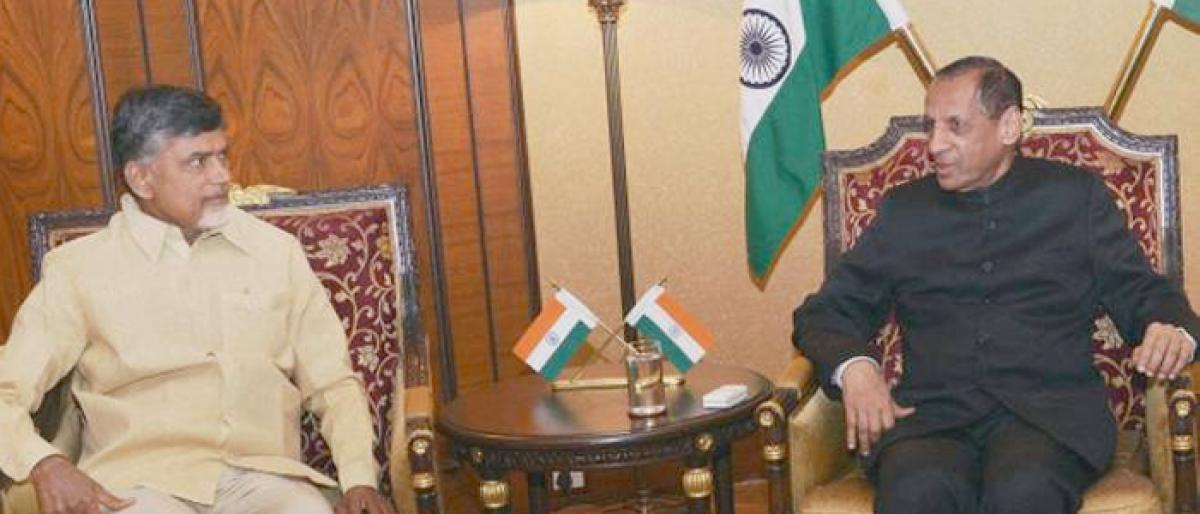 Governor, Naidu discussed one hour