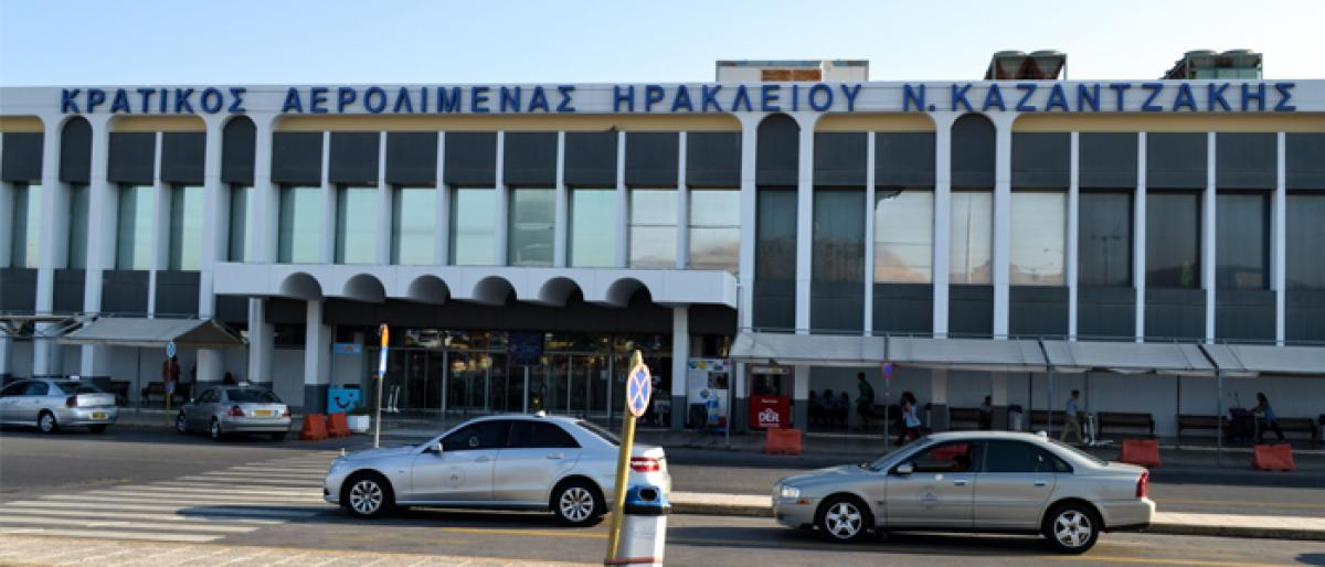 GMR group to develop Greek international airport project