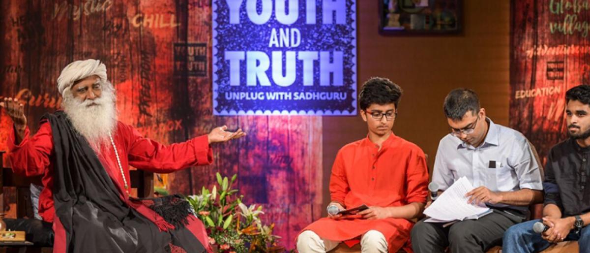 Sadhguru interaction keeps NALSAR students spellbound