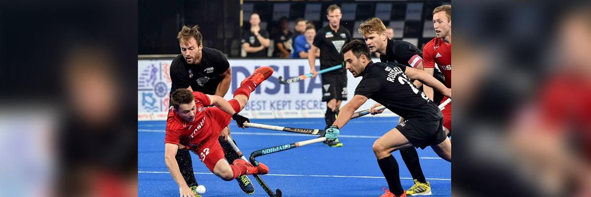 England blank NZ, set up last 8 with Argentina
