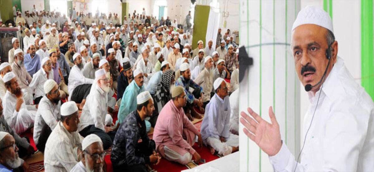 Muslim pilgrims get training on Haj rituals