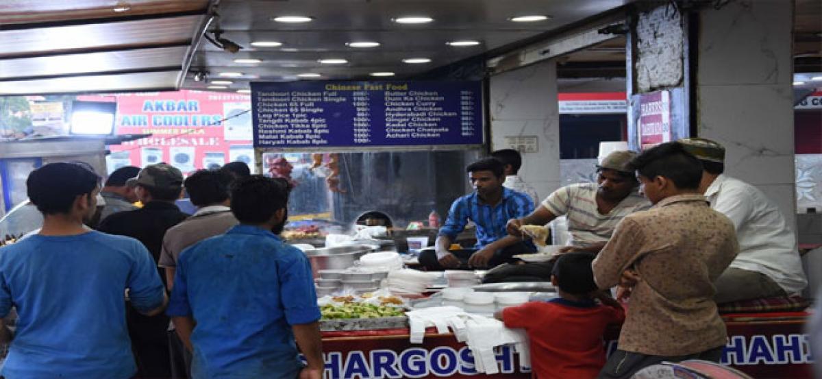 Haleem sale picks up as rains bring down temperatures