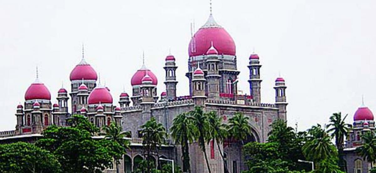 Hyderabad HC will be common for both the states, till new court is built in AP