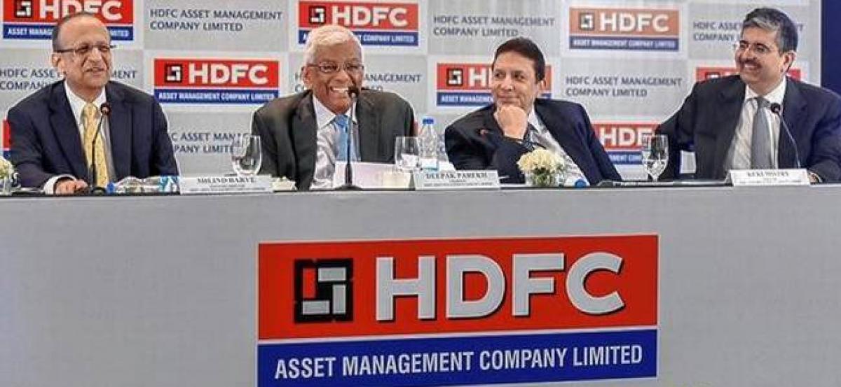 HDFC makes a marking debut regarding bourses