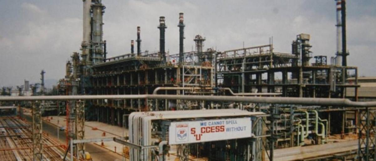 HPCL Visakh Refinery to double capacity