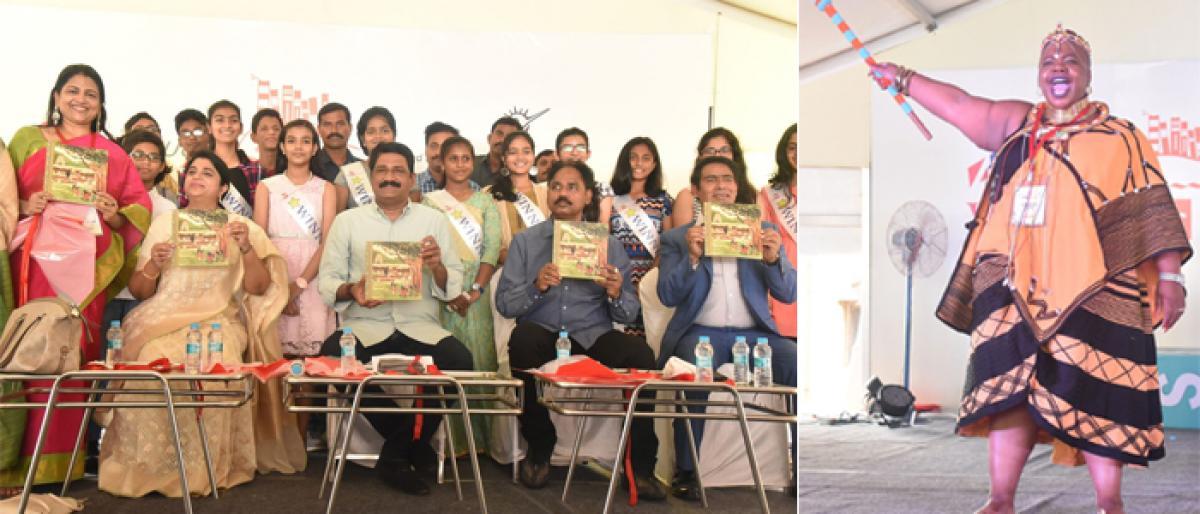 Ganta Srinivasa Rao launches Vizag Junior Literacy Fest