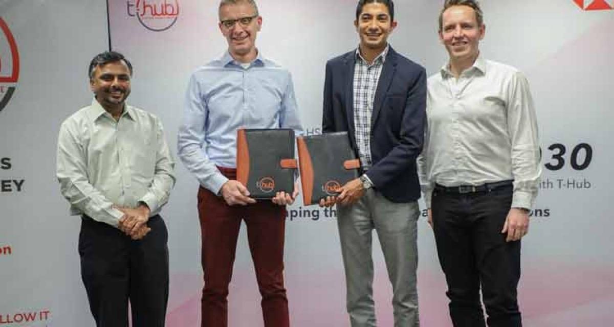 HSBC in pact with T-Hub