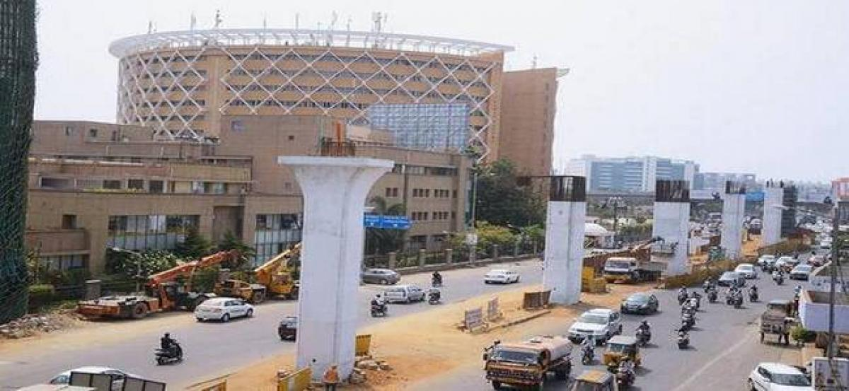Hyderabad: Traffic at Hi-tech City to be diverted for 3 months due to metro works