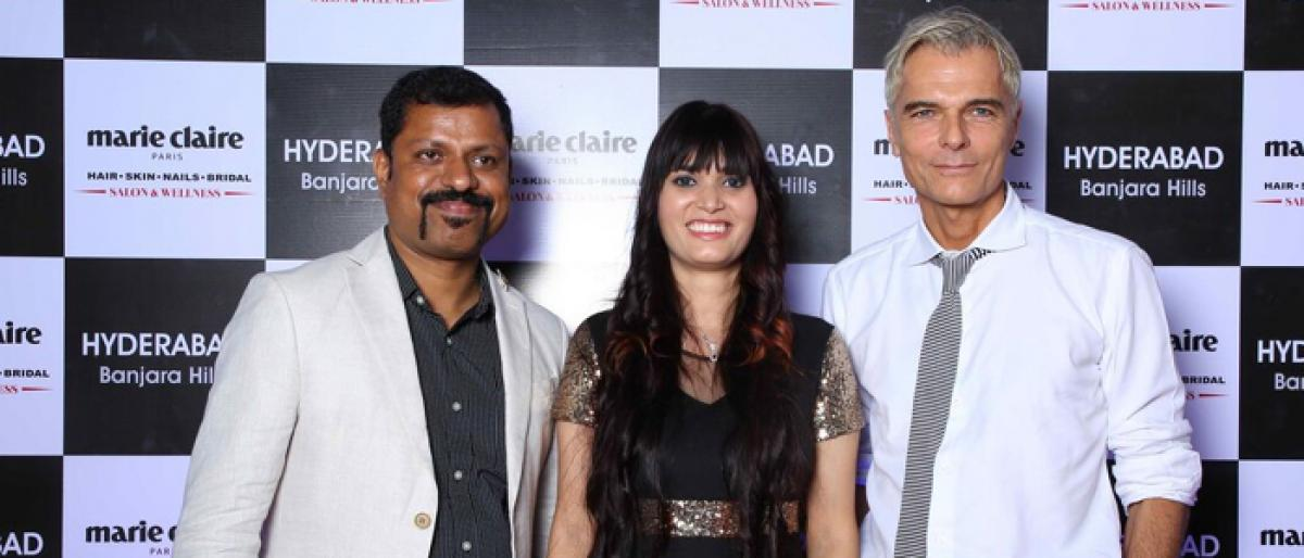Marie Claire Paris launched in Hyderabad