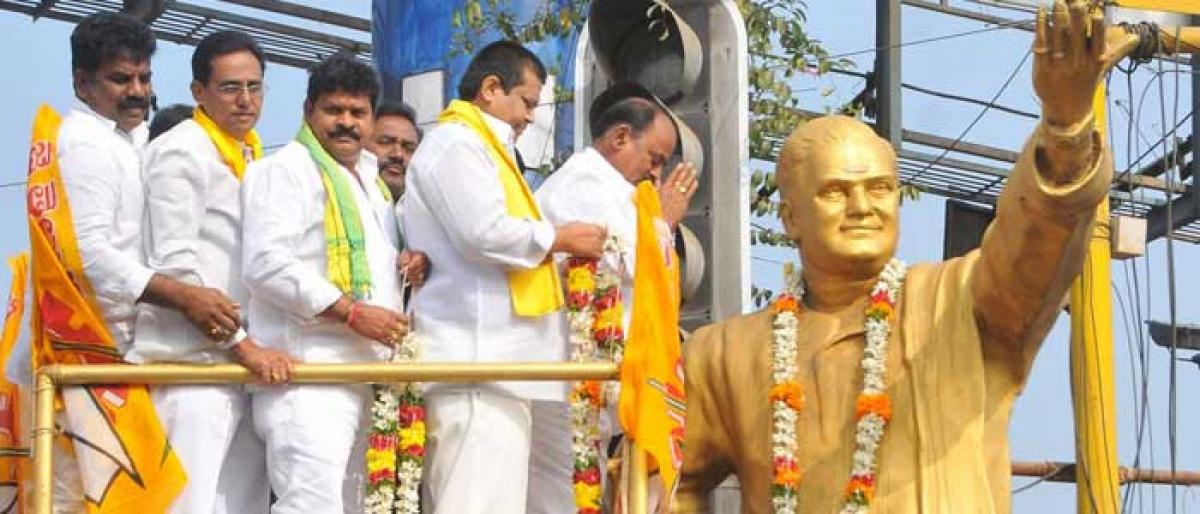 Rich tributes paid to NTR