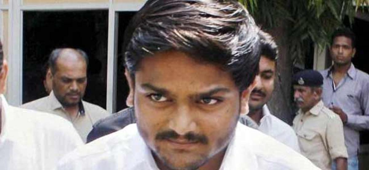Ahmedabad sessions court threatens Hardik Patel