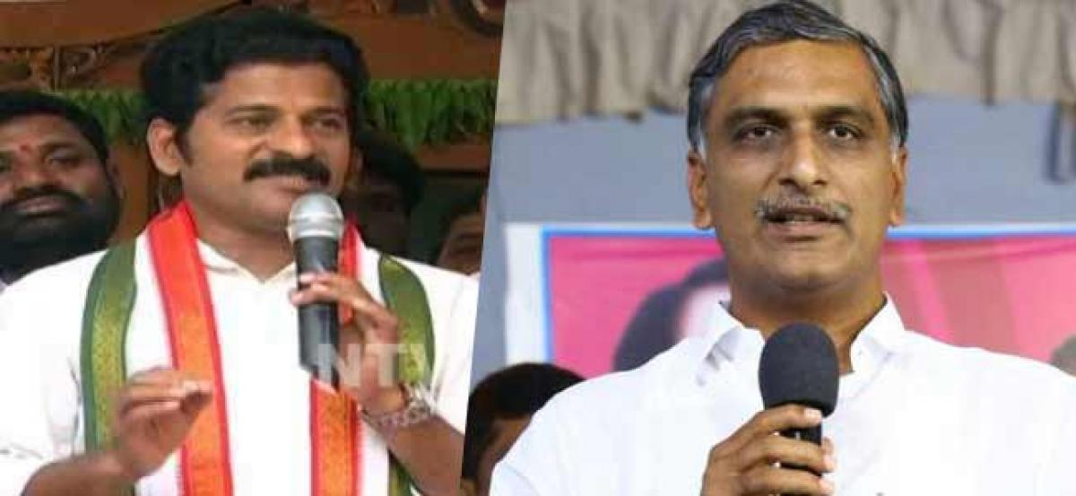 Revanth Reddy lashes out at Harish Rao