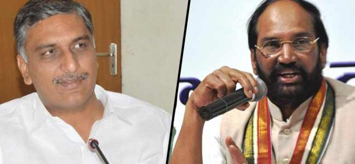 Harish wants answers to 12 questions by Uttam on alliance with TDP