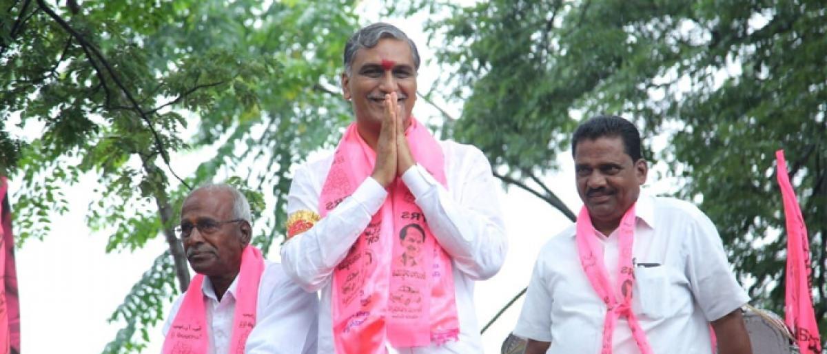Philosophical Harish spurs debate on TRS politics