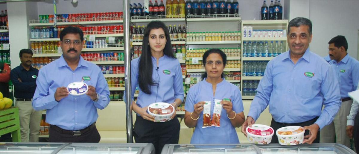 Heritage Foods launches ice-cream brand Alpenvie