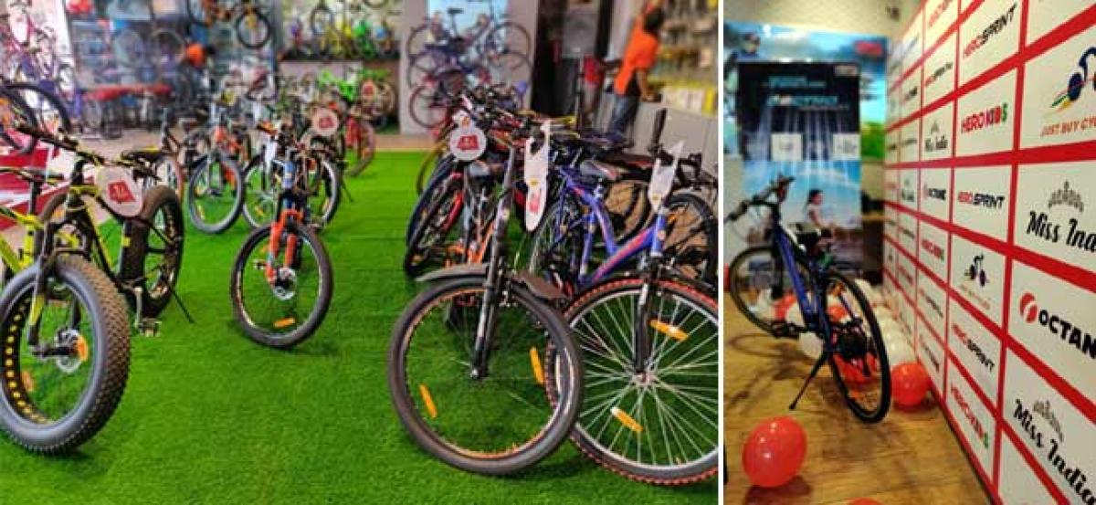Hero Cycles fortifies its presence in South, Opens 6 Sprint Stores in Chennai