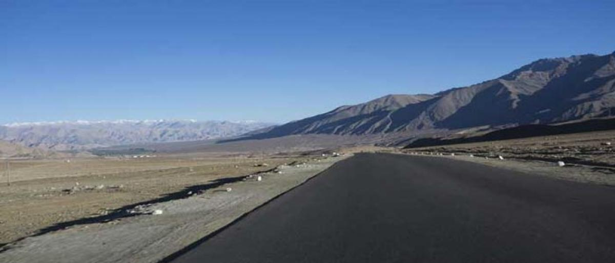 At 19,300 feet, Ladakh gets worlds highest motorable road