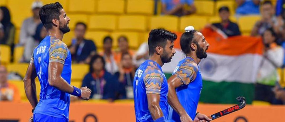 India in men hockey semis at Asian Games