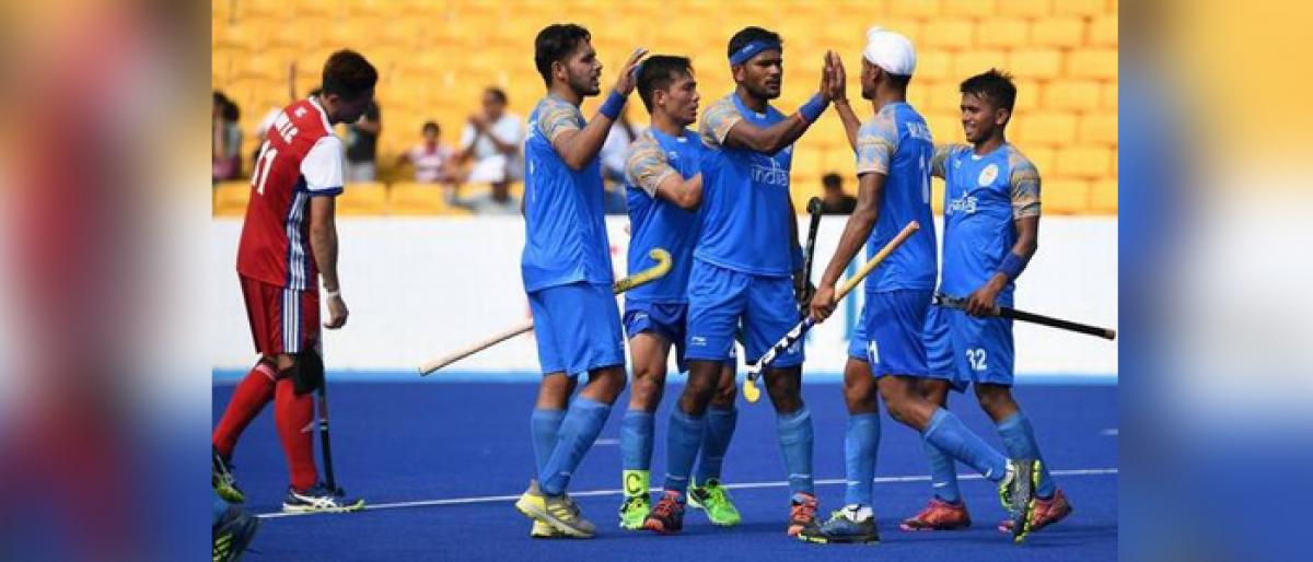 India rout Japan in men hockey at Asian games
