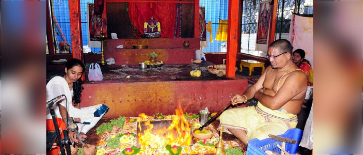 Sudarshana Homam conducted