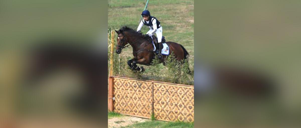 Equestrian first for Fouaad Mirza