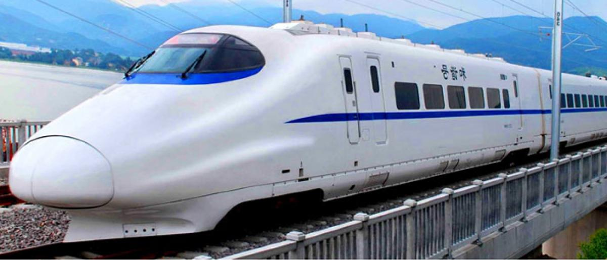 Bullet train to link Hyderabad with Amaravati
