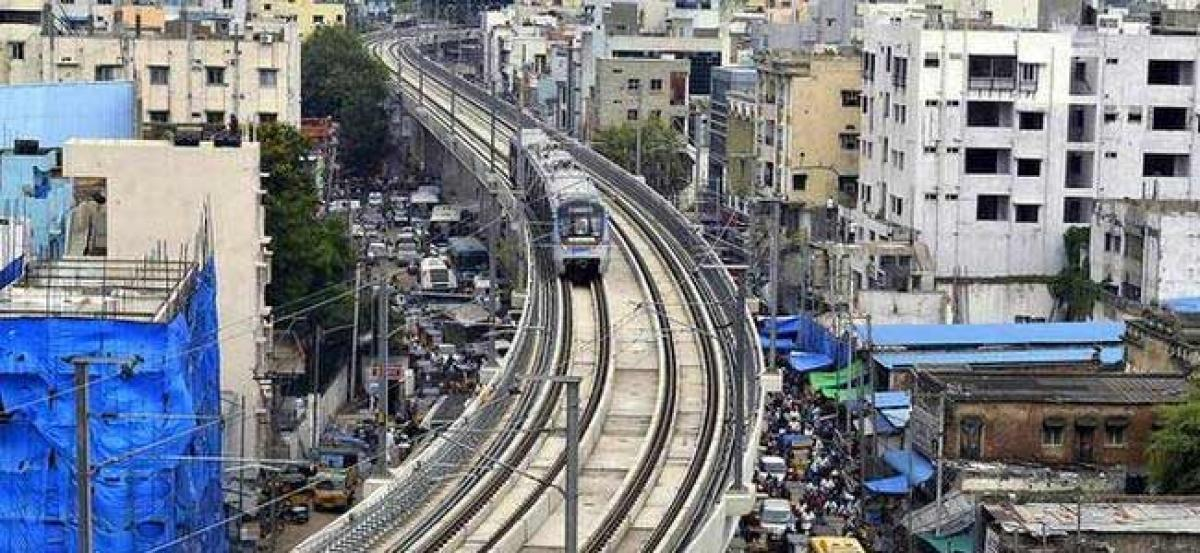 Conditional GREEN signal for Ameerpet-LB Nagar Metro Route