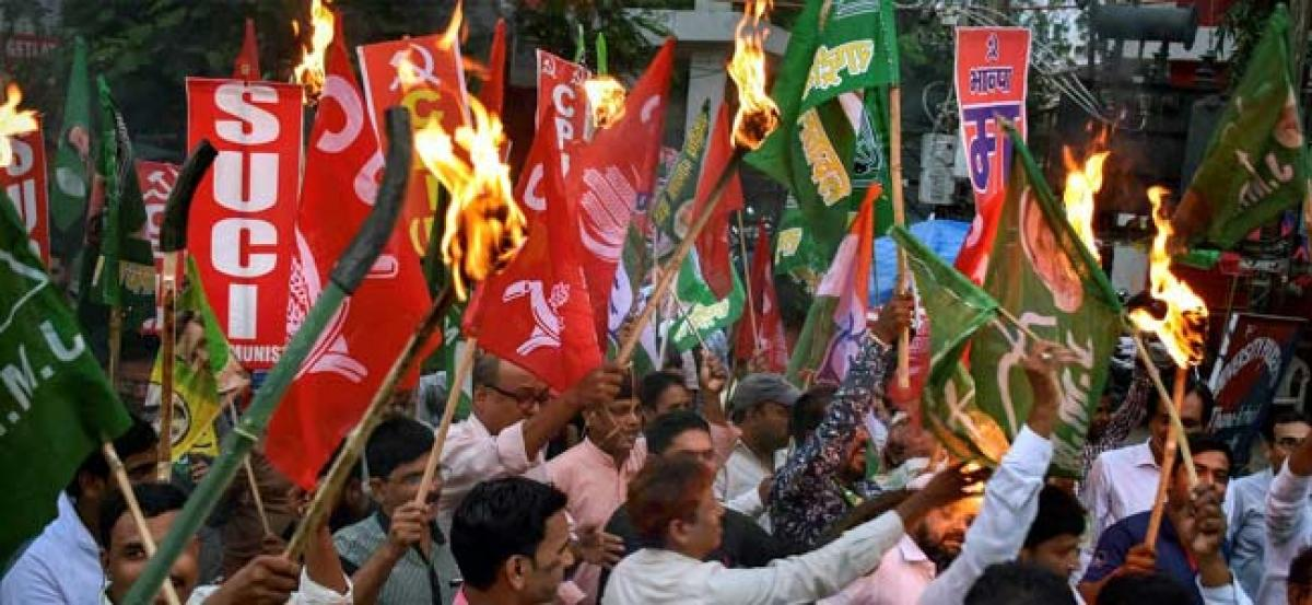 Bharat Bandh: Protests throw life out of gear in Hyderabad