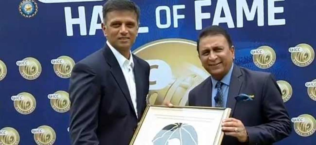 'The Wall' Rahul Dravid inducted into ICC Hall of Fame, becomes 5th player from India