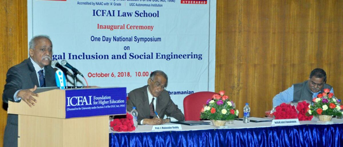 ICFAI Law School conducts national symposium