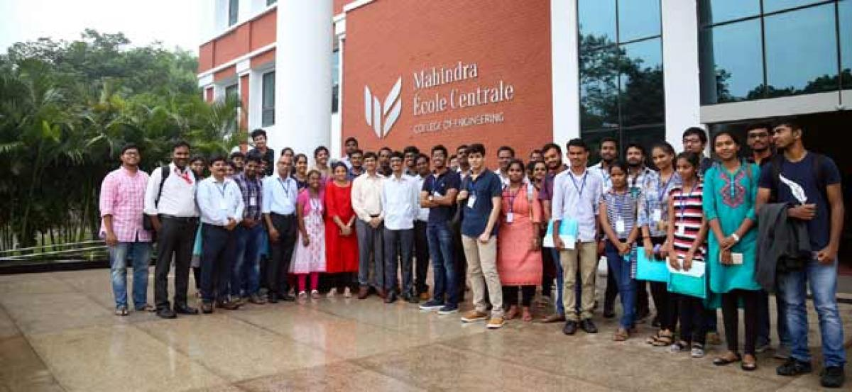 Mahindra Ecole Centrale organizes a Workshop on Sustainable Aspects of Geotechnical & Transportation Engineering