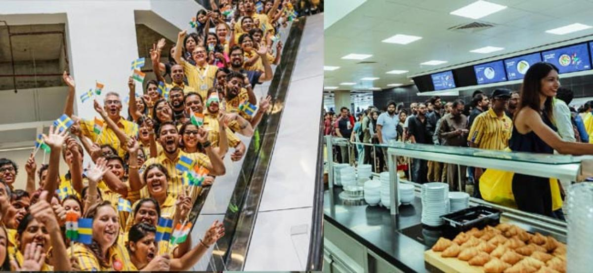 Stampede-like situation witnessed at grand launch of IKEA in Hyderabad