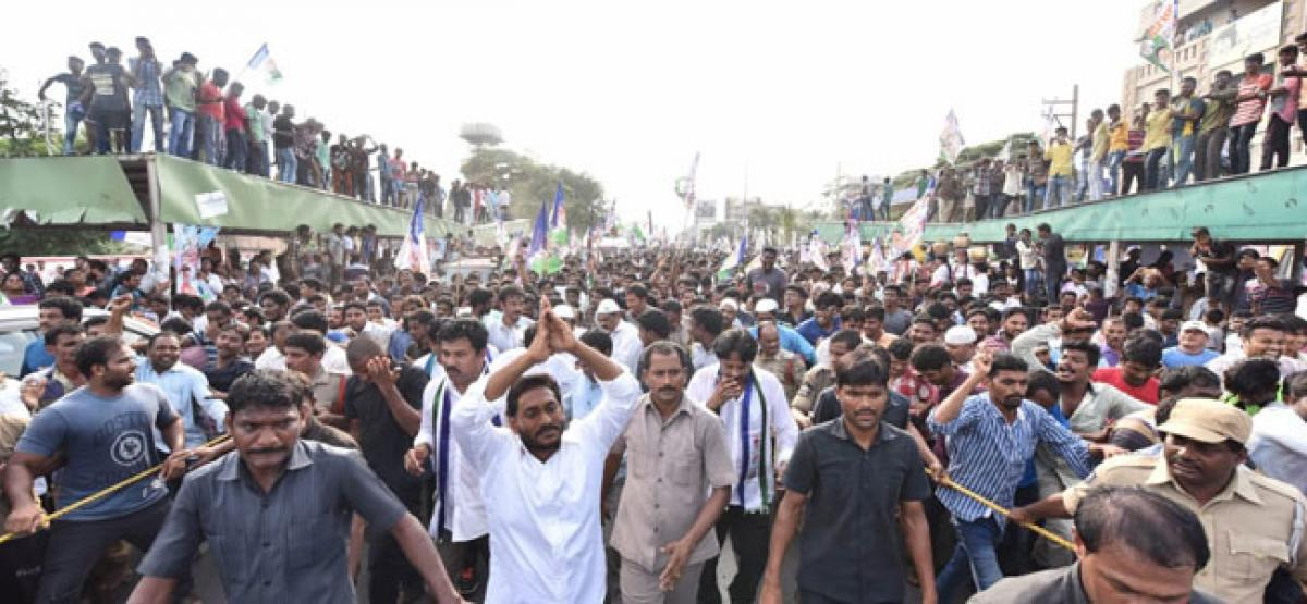 TDP Ministers are land-grabbers: Jagan