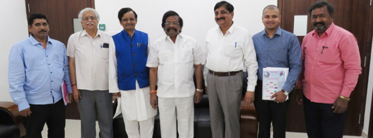 Naidu Dasaradharami Reddy Group to invest 400 cr at Donakonda