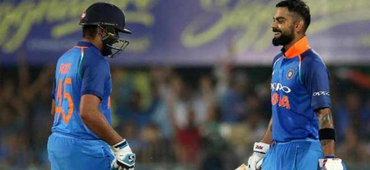 IND vs WI, 1st ODI: Kohli, Rohit tons guide India to comfortable win