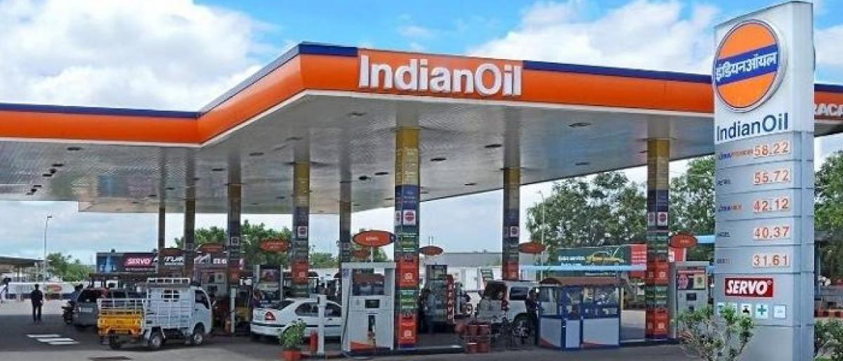 Indian Oil petrol bunk inspected