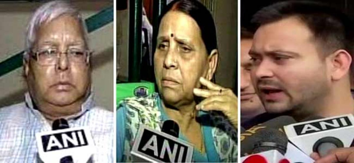 IRCTC scam: Court holds summon orders for Lalu, Rabri, Tejashwi
