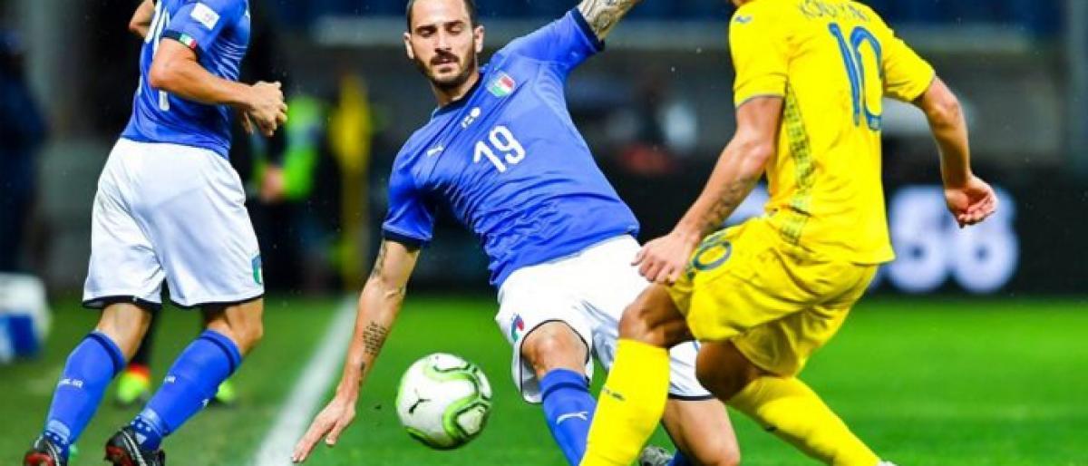 Italy held by Ukraine in friendly