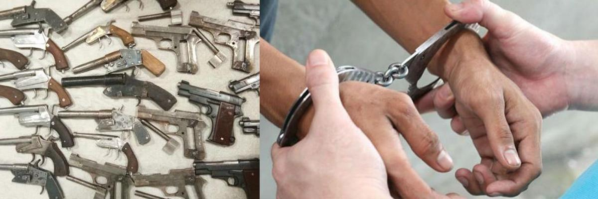 Gang supplying illegal arms busted